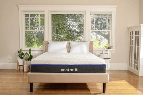The Nectar Lush mattress.