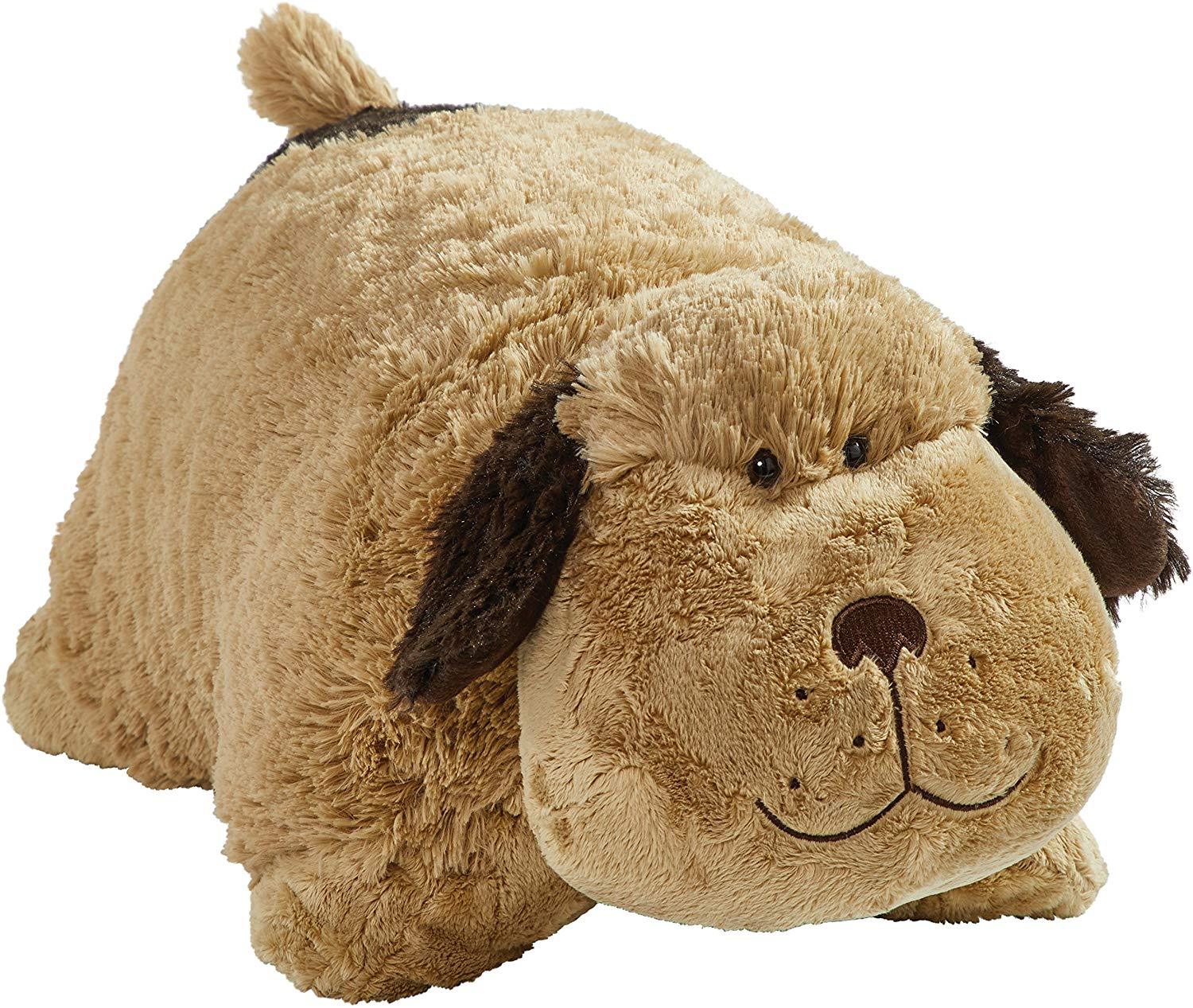 "Pillow Pets Snuggly Puppy - Signature 18"" Stuffed Animal Plush Toy"