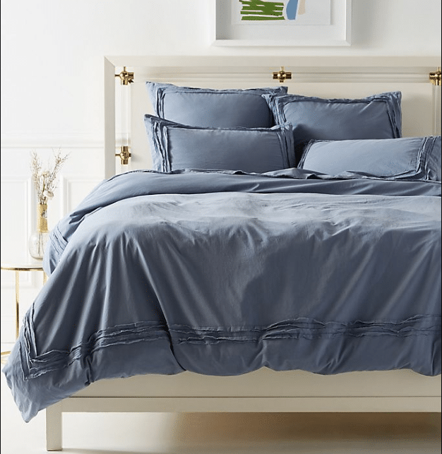 Joey Washed Percale Duvet Cover