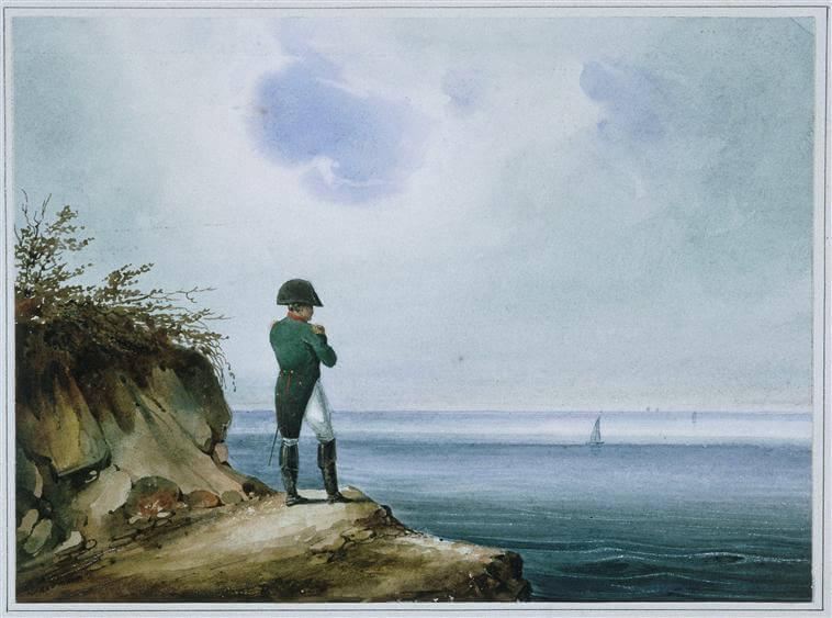 Napoléon in Sainte-Hélène, by Franz Josef Sandmann.