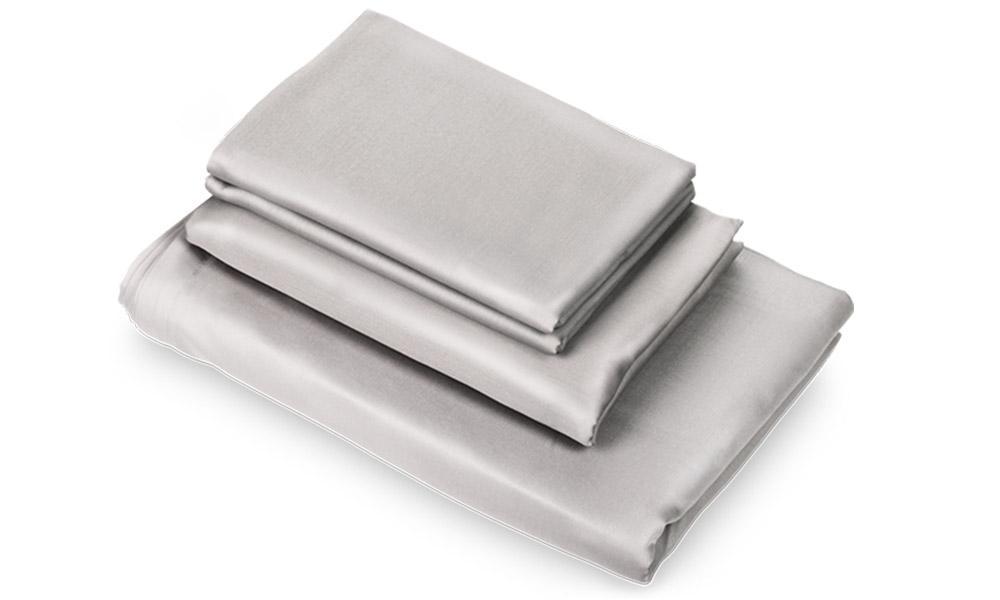 puffy sheets gray