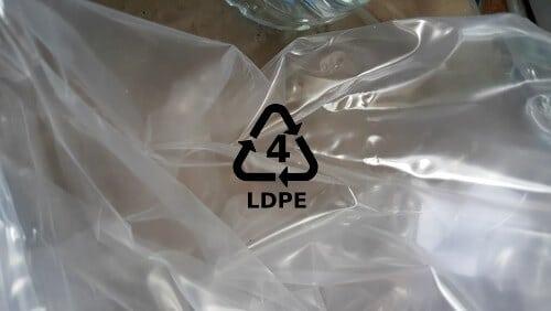 Plastic type #4 LDPE