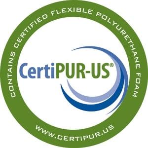 Round CertiPUR-US logo