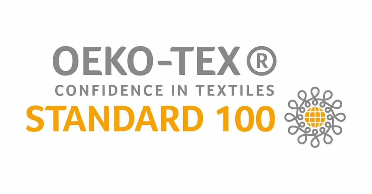 Standard 100 by OEKO-TEX label
