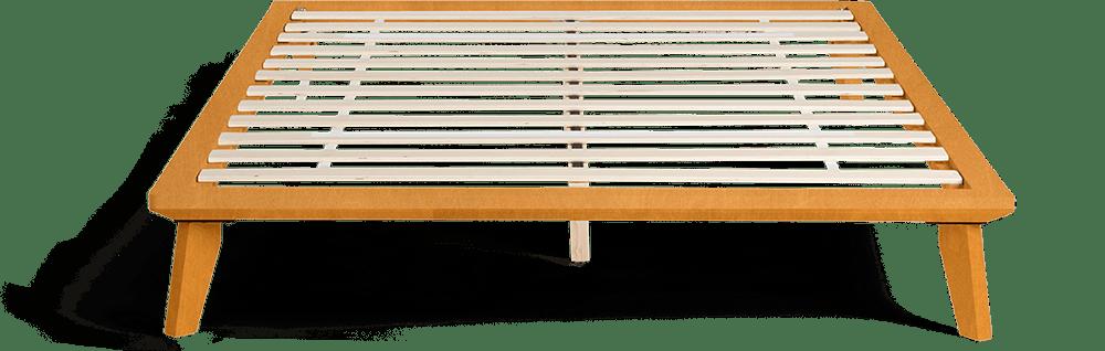 Minimal Wooden Bed