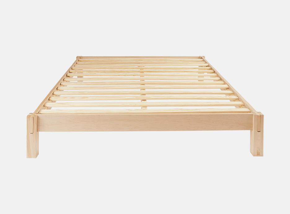 helix japanese joinery bed frame