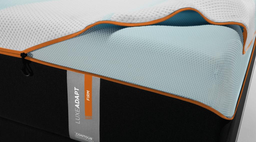 Tempurpedic mattress layers