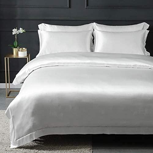 silver silk sheets