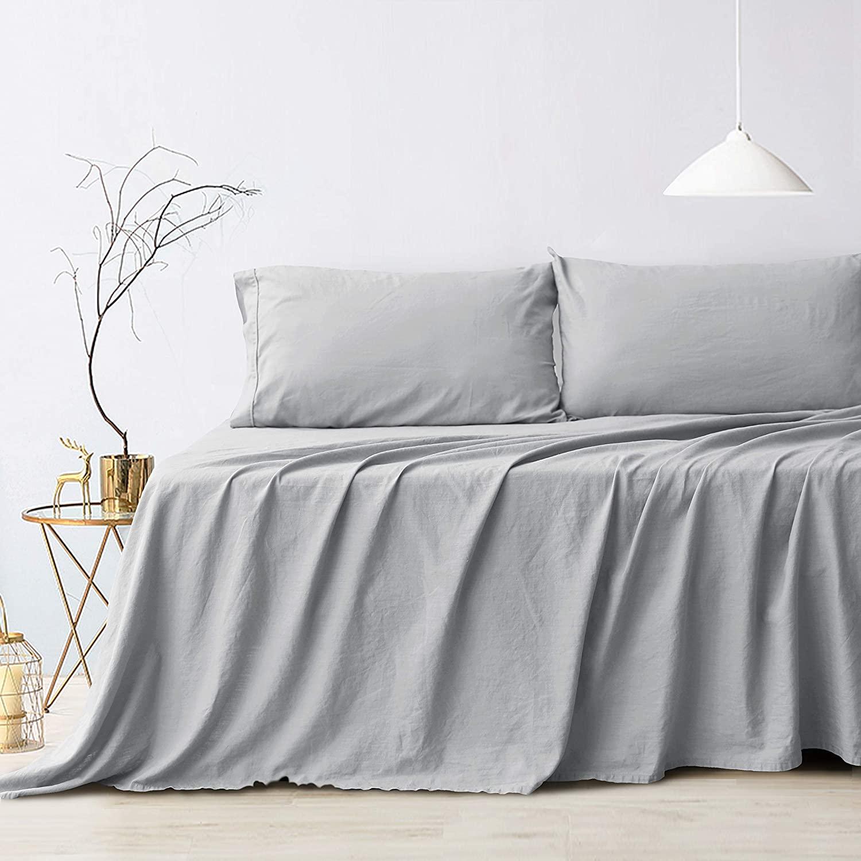 grey hemp sheets