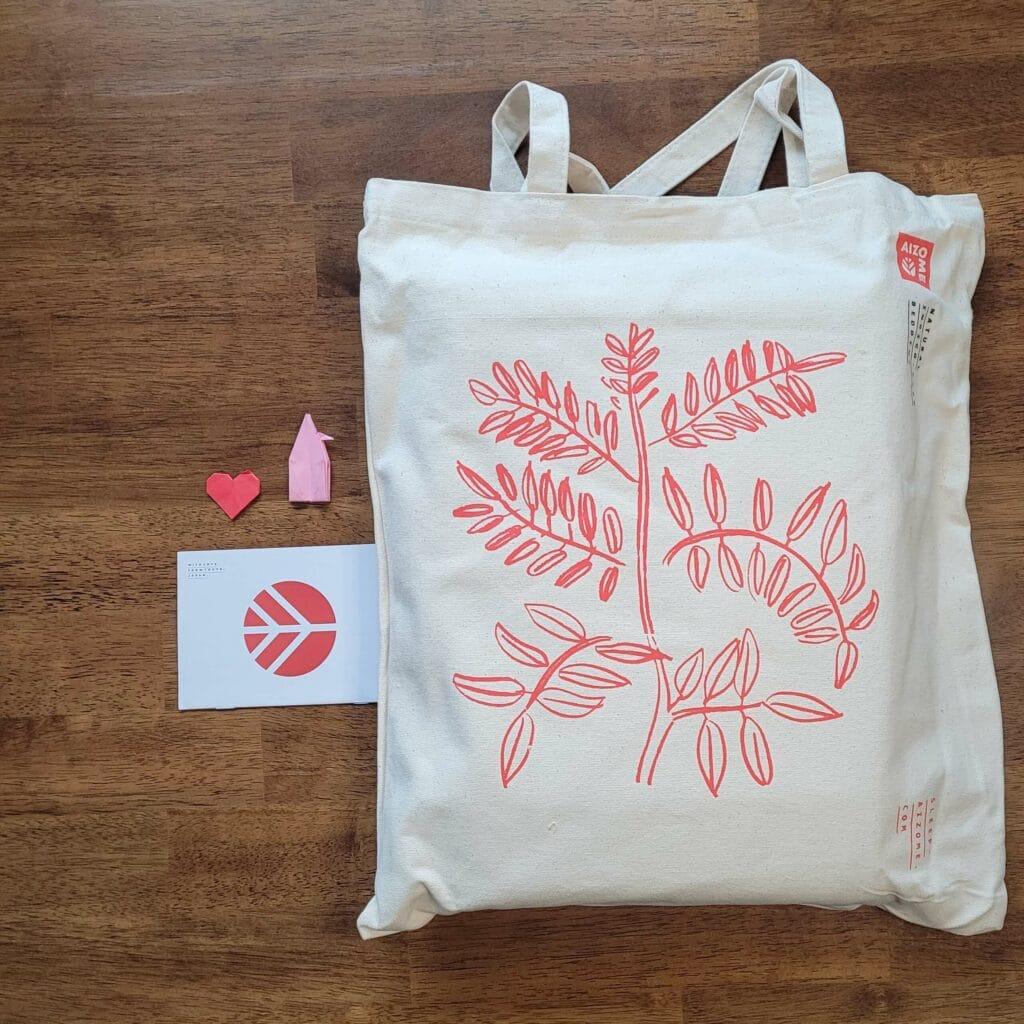 Aizome Bed Sheets Bag