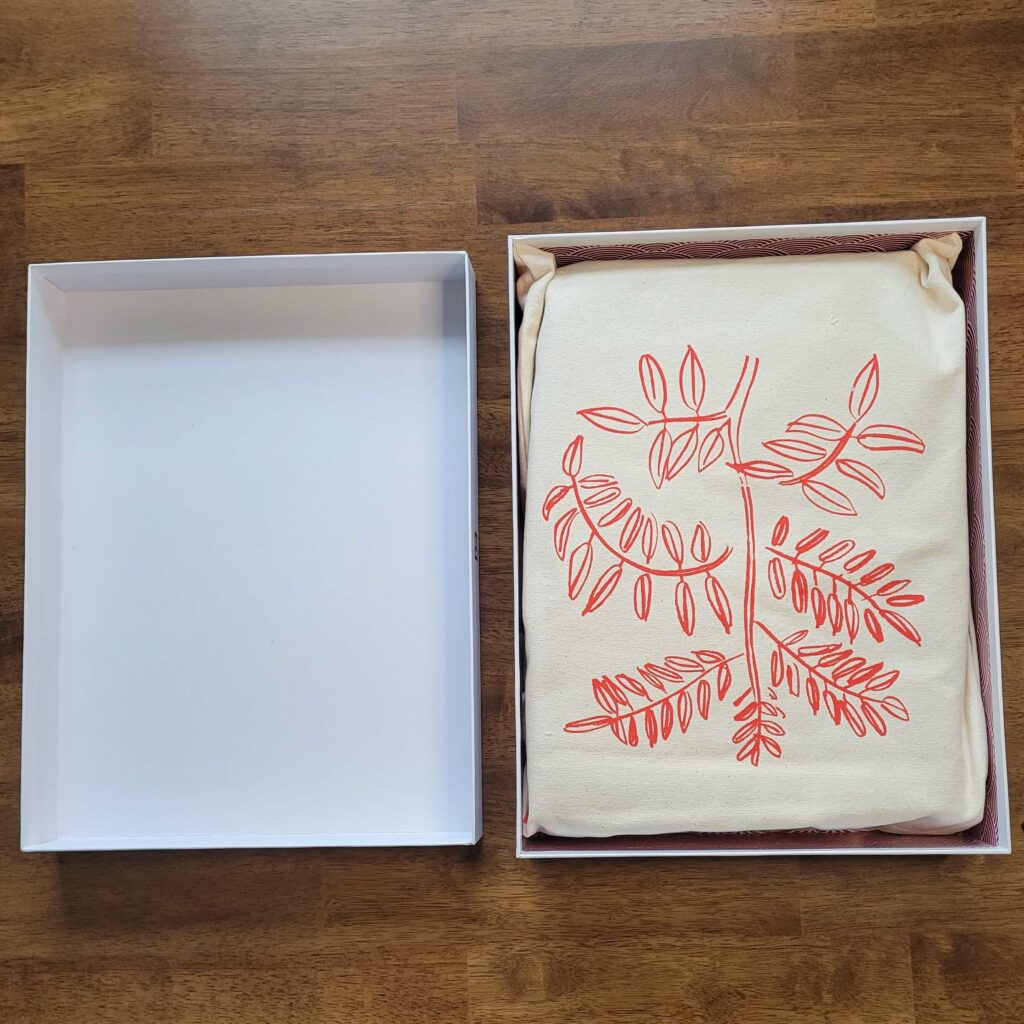 Aizome Bed Sheets unboxing