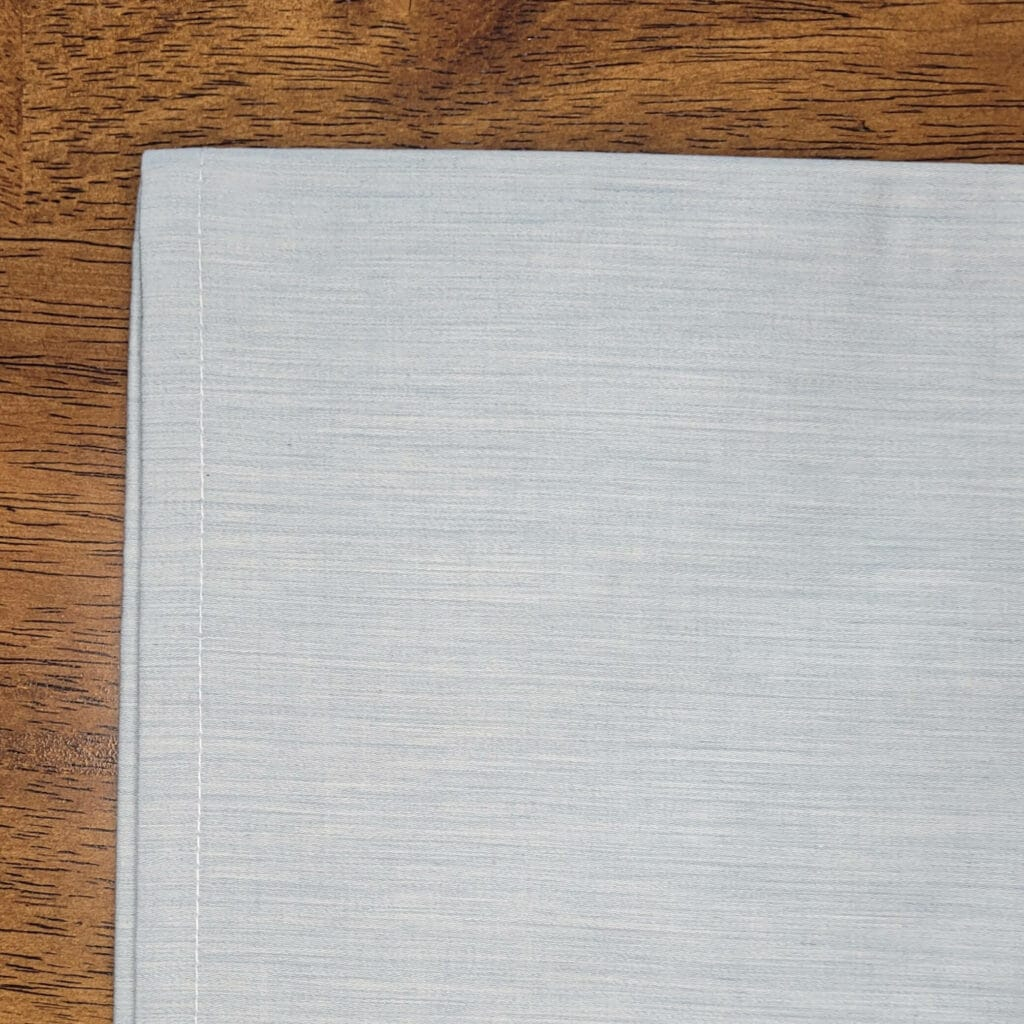 Aizome Bed Sheets Thread count
