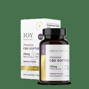 Joy Organic Softgels Melatonin750 2000x
