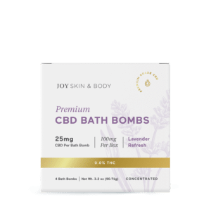 Joy Organics CBD Bath-Bombs