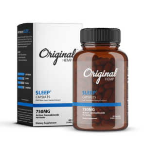Organic Hemp Sleep Capsules