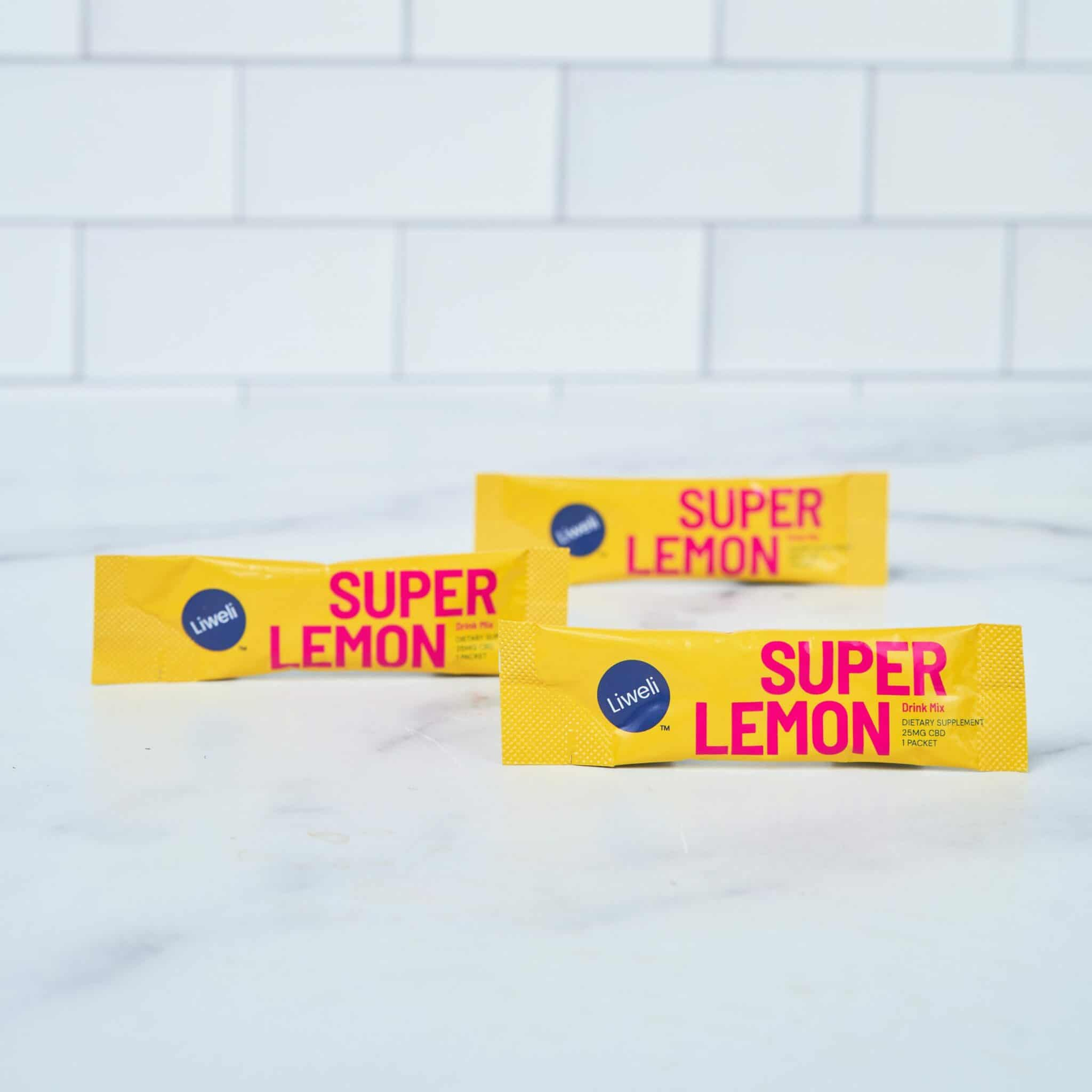 Liweli Super Lemon CBD Drink Mix Starter Kit scaled 1 scaled