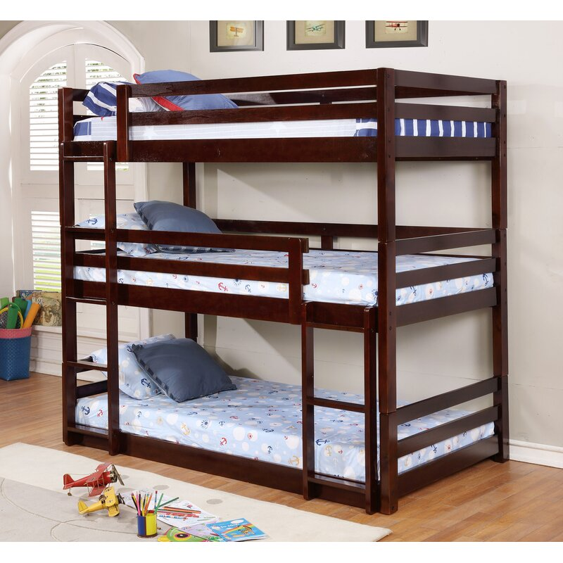 Alemany Triple Bunk Bed